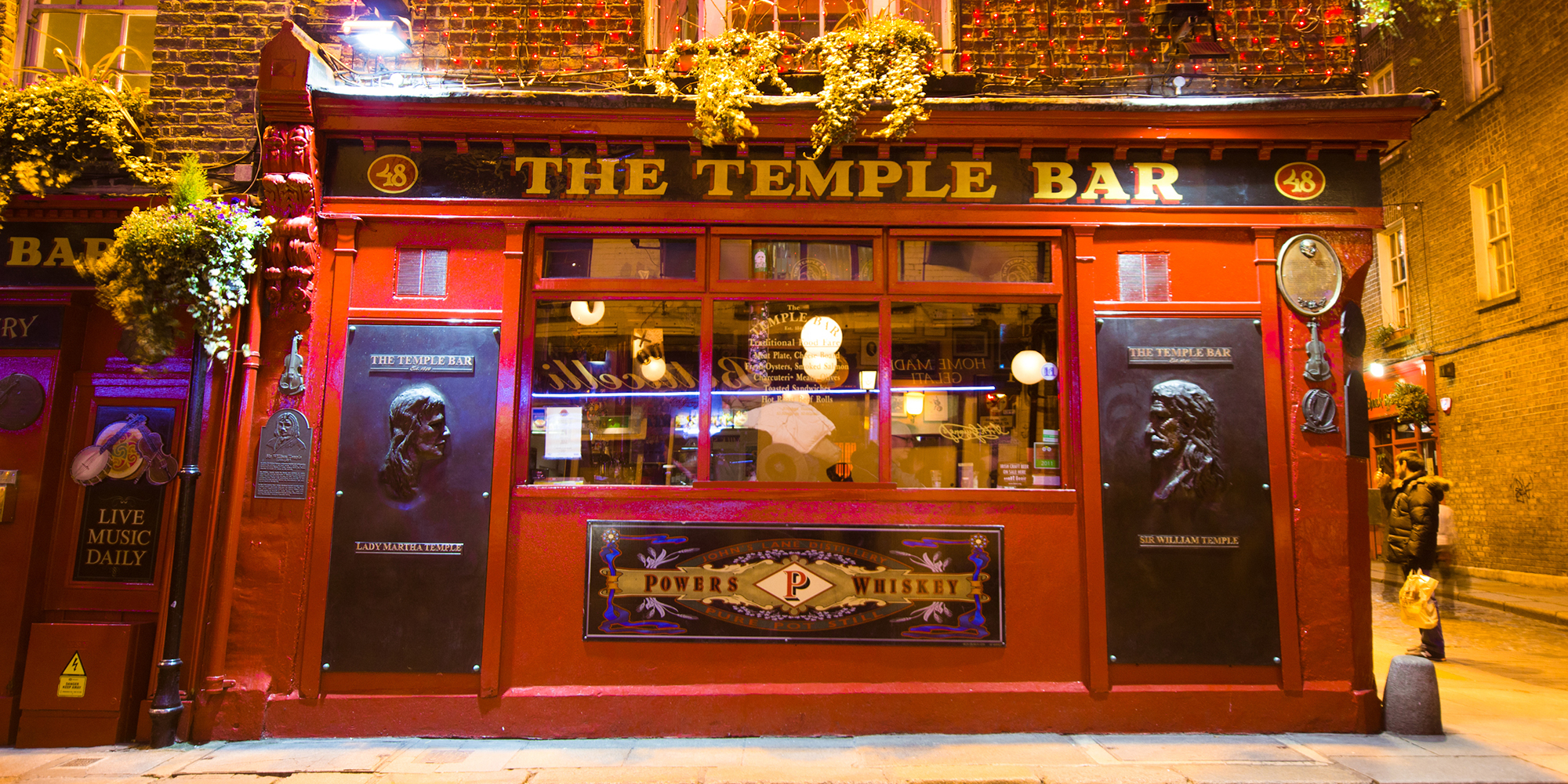 Dublin med TradFest Temple Bar